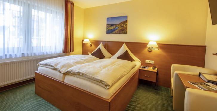 Doppelzimmer - Hotel Burgfrieden