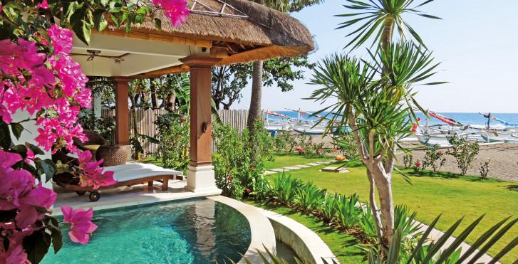 Oceanfront-Villa - Palm Garden Amed Beach & Spa Resort