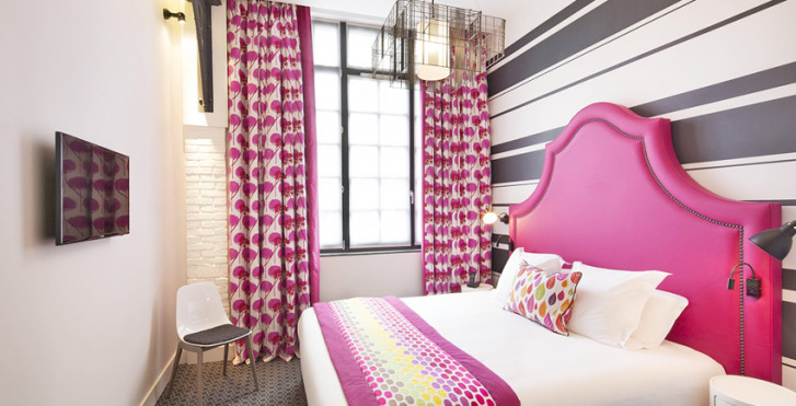 Fabric hotel paris vacances migros for Liste des hotels a paris