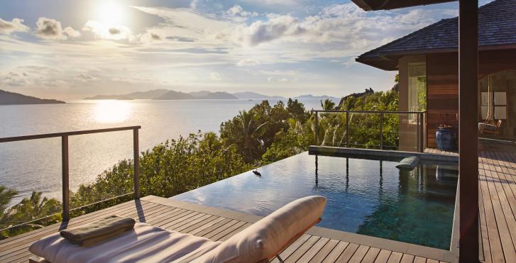 Villa Panorama Pool - Six Senses Zil Pasyon