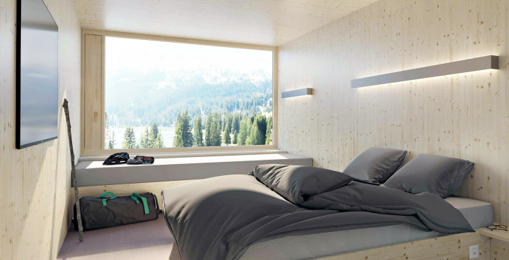 Chambre XL Cabin - Revier Mountain Lodge Lenzerheide