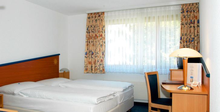 Chambre double Confort - Turmhotel Victoria - Forfait ski
