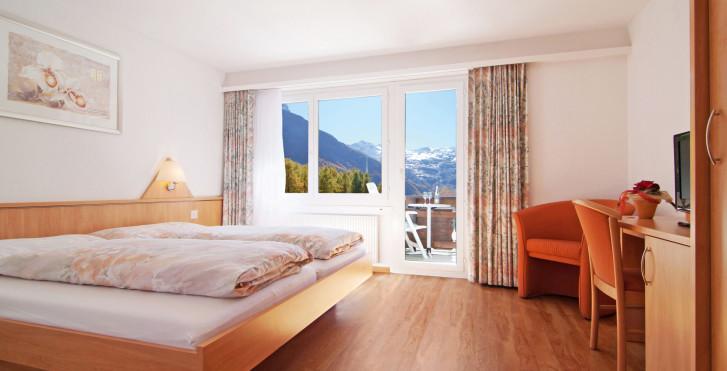 Doppelzimmer Superior - Hotel Eden Saas-Fee - Skipauschale
