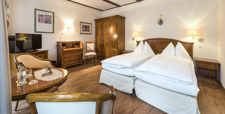 Doppelzimmer Superior - Sunstar Boutique Hotel Beau-Site Saas-Fee - Skipauschale