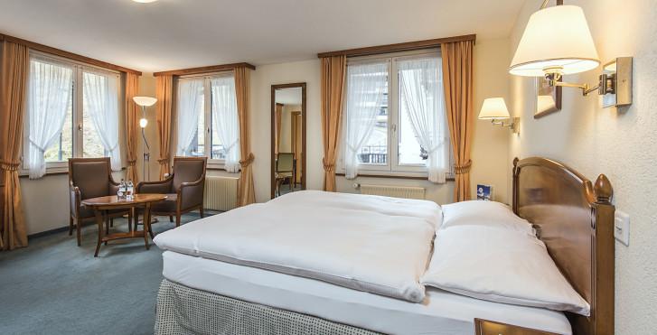 Doppelzimmer Comfort - Sunstar Boutique Hotel Beau-Site Saas-Fee - Skipauschale