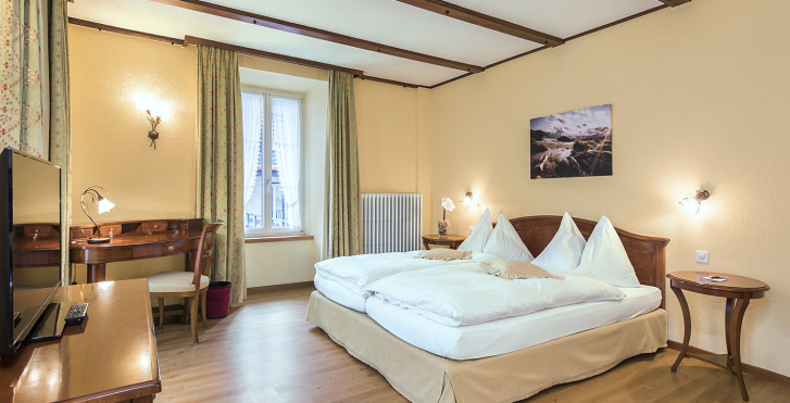 Familienzimmer Superior - Sunstar Boutique Hotel Beau-Site Saas-Fee - Skipauschale