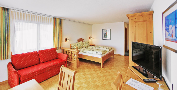 Chambre double Superior - Hôtel Alpenrose - Forfait ski