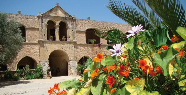 Westkreta: Arkadi-Kloster - Fly & Drive Kreta