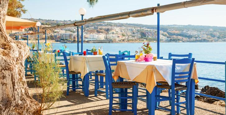 Taverne am Meer - Fly & Drive Kreta