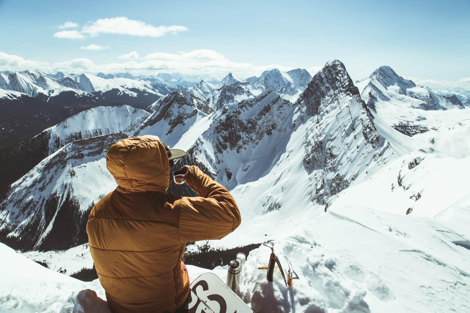Gipfel soweit das Auge reicht. Foto: Brandon Hartwig