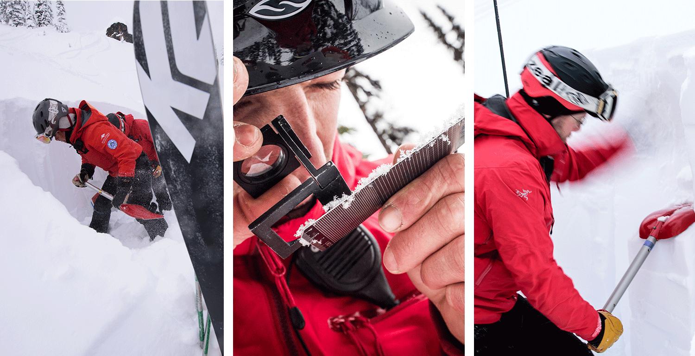 Tägliche Schnee-Kontrolle um die Sicherheit der Ski- und Snowboardfahrer zu garantieren