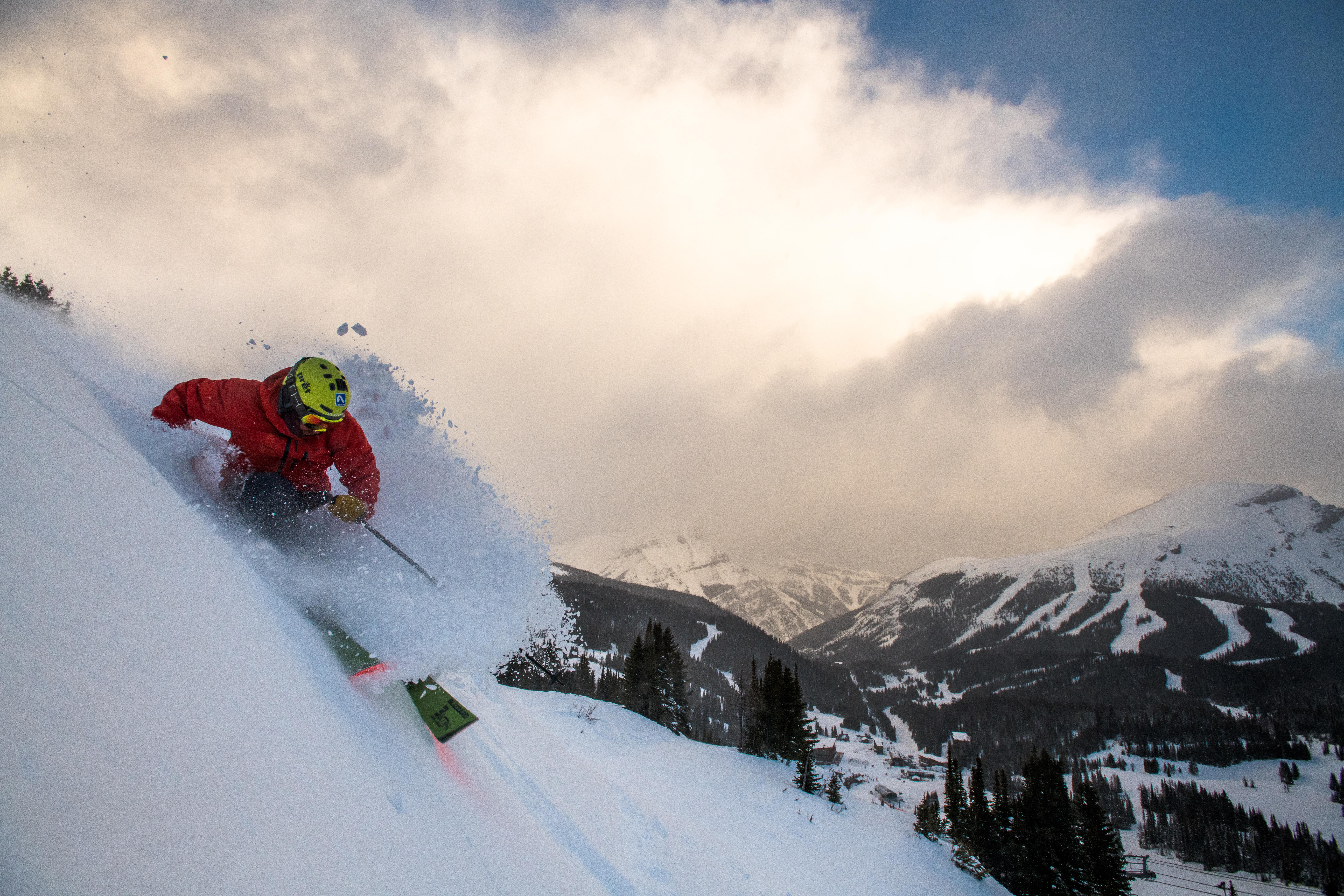 Banff resort. Picture by Reuben Krabbe
