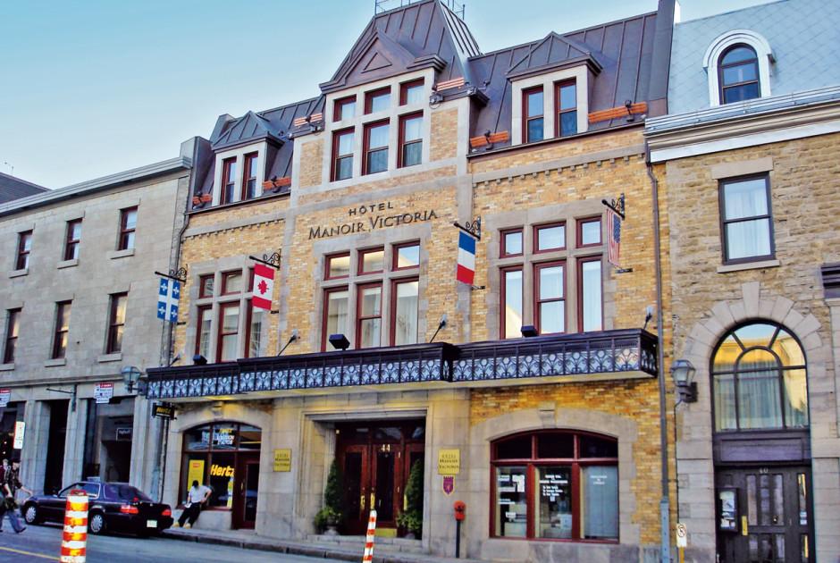 Hotel Manoir Victoria Ville De Quebec