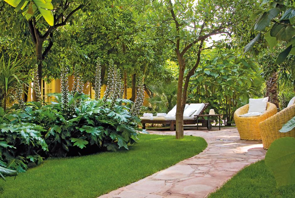 Les jardins de la medina marrakesch marokko for Le jardin de la medina