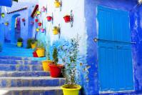 Die weiss-blaue Stadt Chefchaouen - Marokko