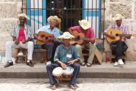 Kubanische Strassemusiker in Havanna