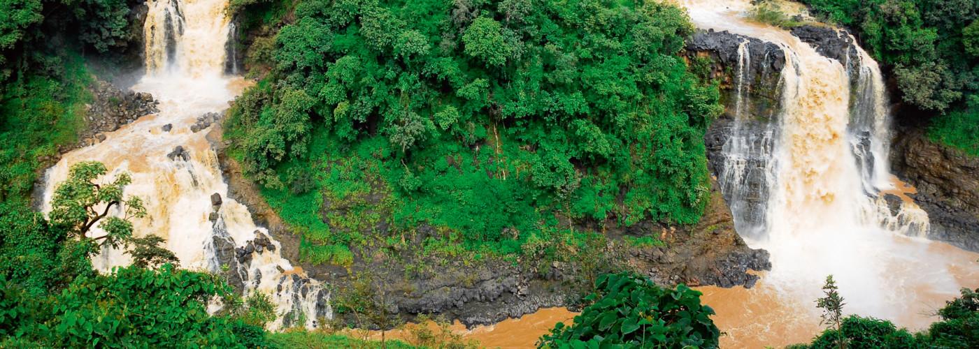 Tisissat-Wasserfälle