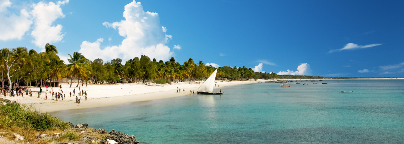 Traumhafte Buchten in Mosambik