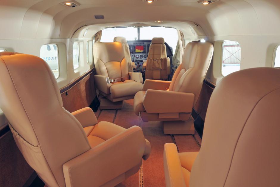 Luxuriöse Cessna Grand Caravan