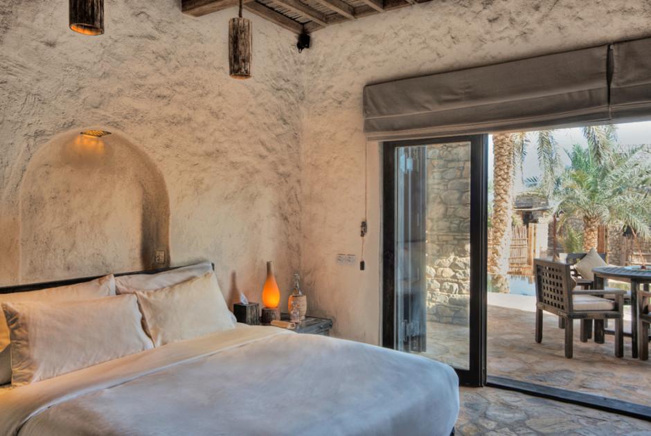 Chambre avec terrasse.