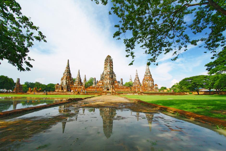 Tempelanlage Wat Chaiwatthanaram in Ayutthaya