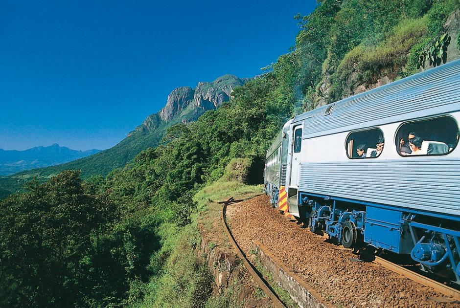 Zugfahrt nach Morretes