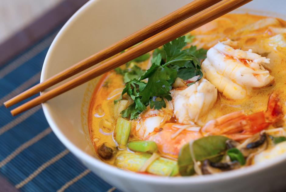 Tom Yam Suppe