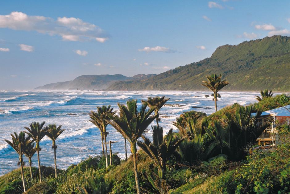 Westküste, Südinsel