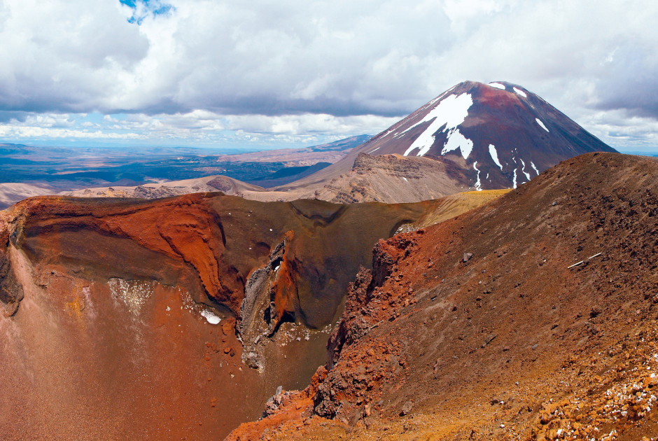Mt. Ngauruhoe, Tongariro-Nationalpark