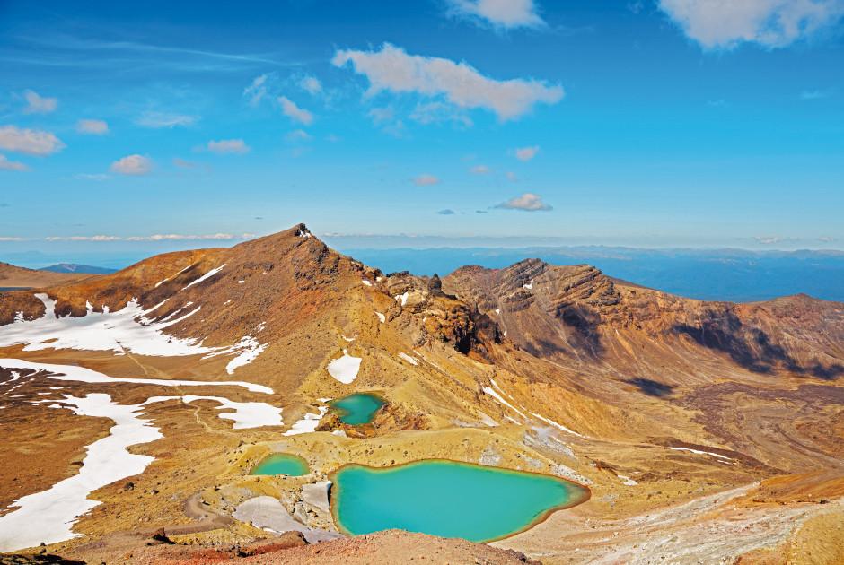 Emerald Lakes, Tongariro-Nationalpark