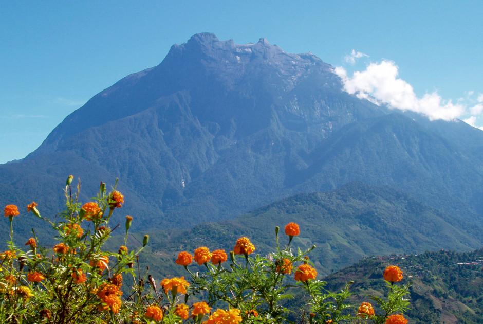 Der Mount Kinabalu