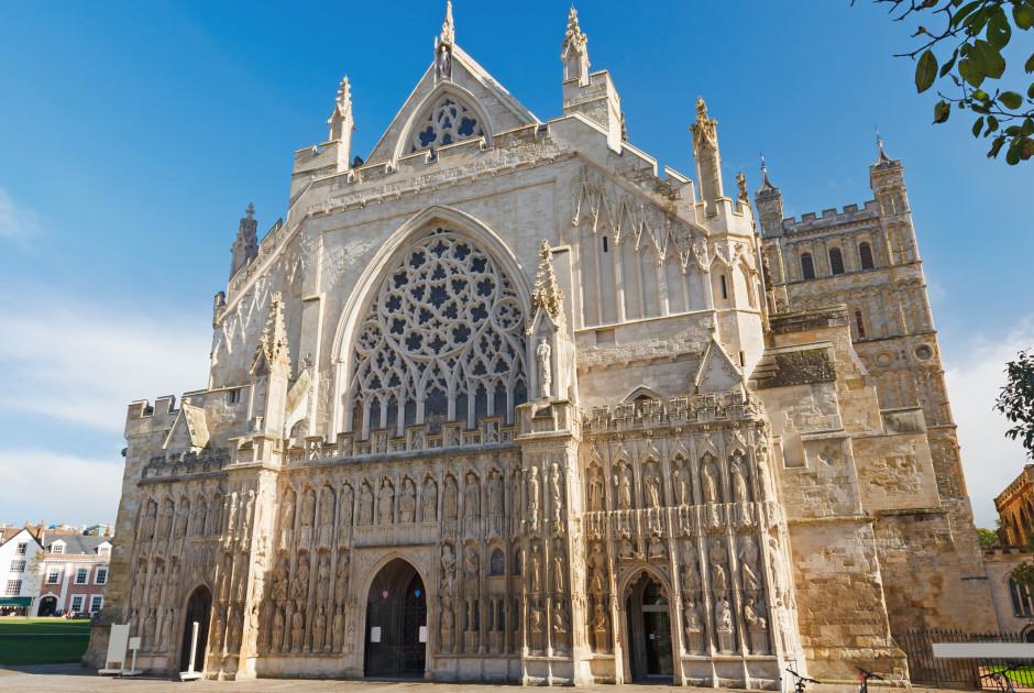 Cathédrale Saint-Pierre d'Exeter