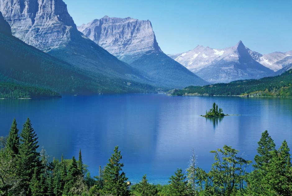 St. Mary See im Glacier Nationalpark