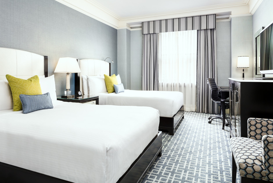 Fairmont Luxury Room With 2 Double Beds
