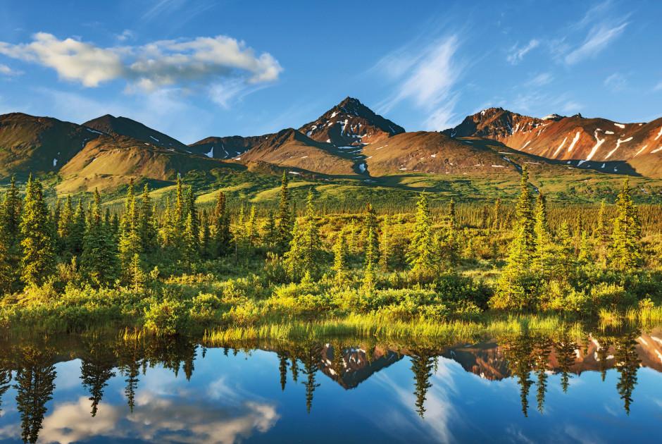 Serenity Lake nahe Anchorage