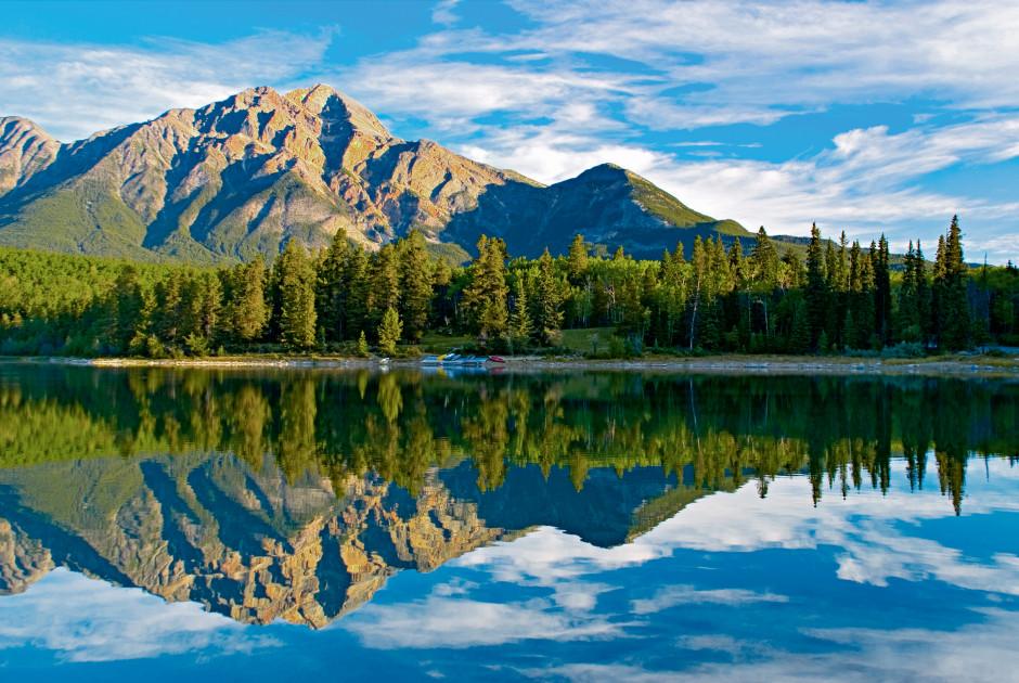 Patricia Lake bei Jasper
