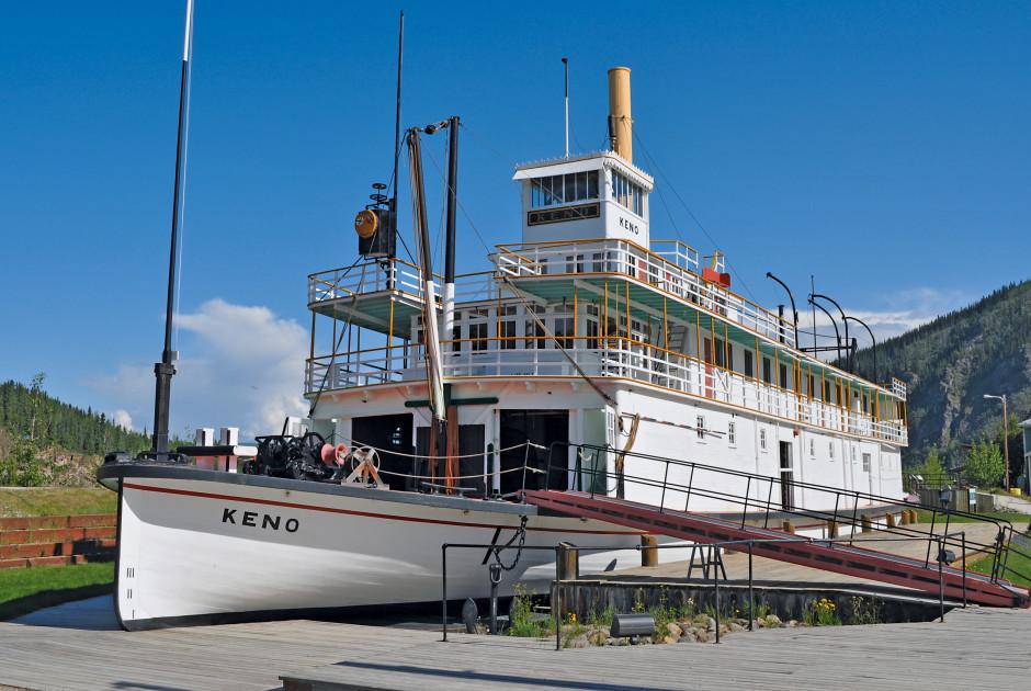 SS Keno in Dawson City