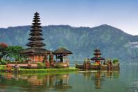 Le temple sur l'eau «Pura Bratan»