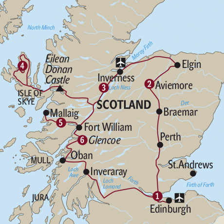 Grossbritannien: 7 Wonders of Scotland ab/bis Edinburgh