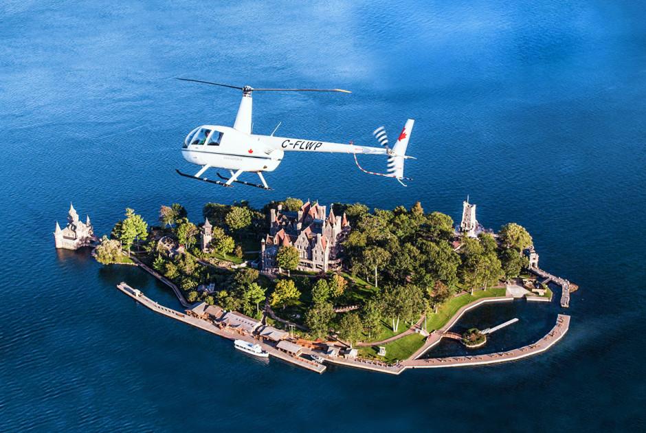 Super Excursion au départ de Kingston (Canada): Tour en hélicoptère des  OA82