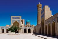 Moschee in Buchara an der alten Seidenstrasse