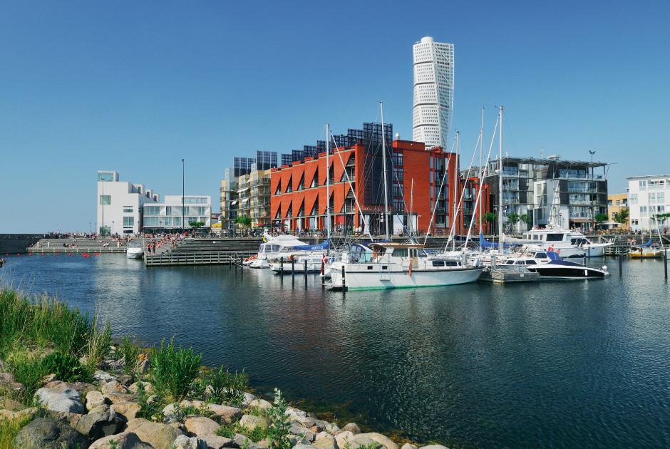 Hafen von Malmö