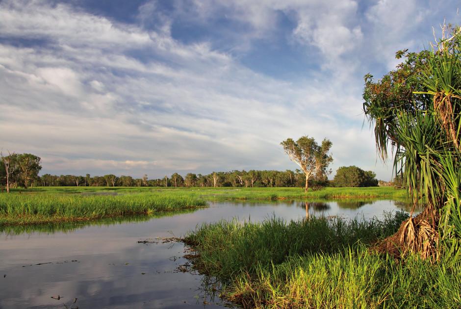 Fluss im Kakadu Nationalpark