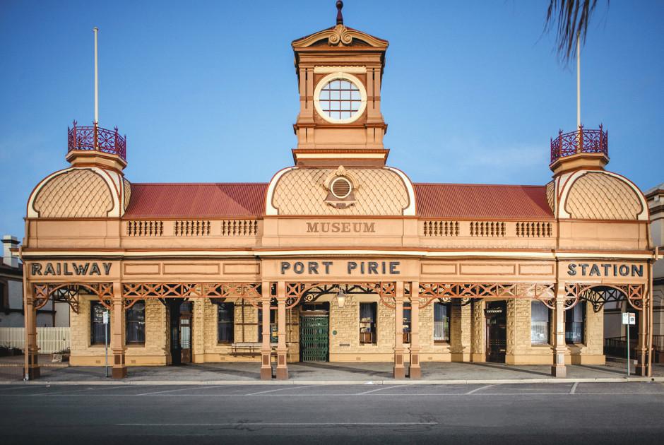 Bahnhof von Port Pirie