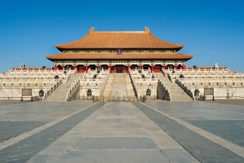Die Verbotene Stadt in Beijing