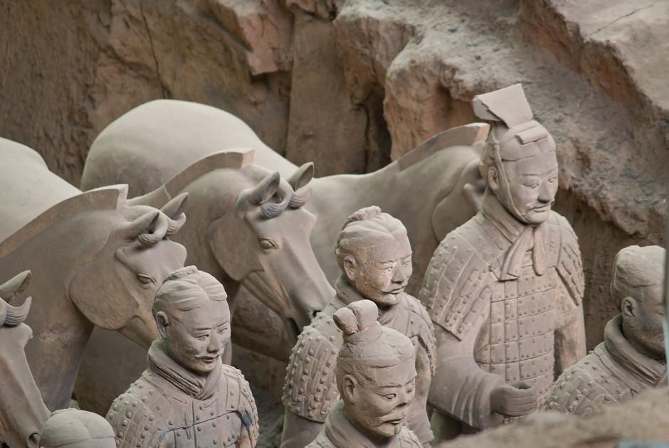 Terrakotta-Armee, Xian