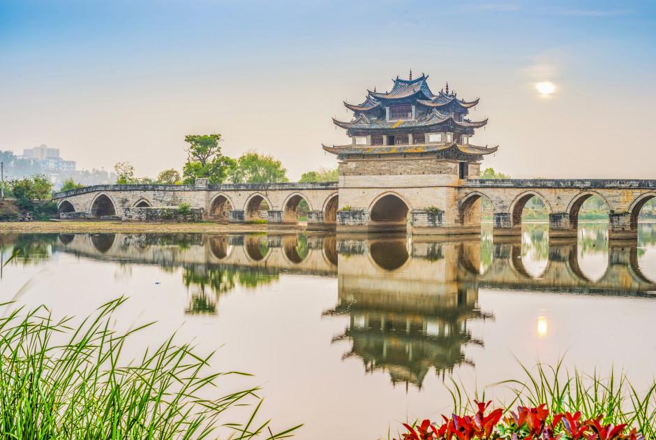 Brücke der Doppeldrachen, Jianshui