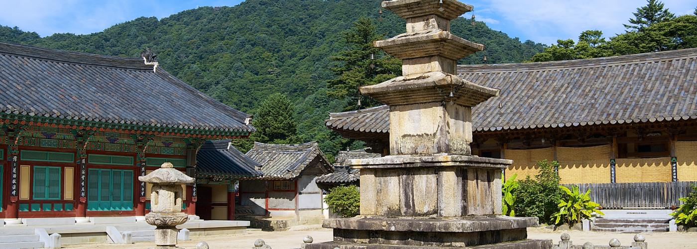 Haeinsa-Tempel in Südkorea