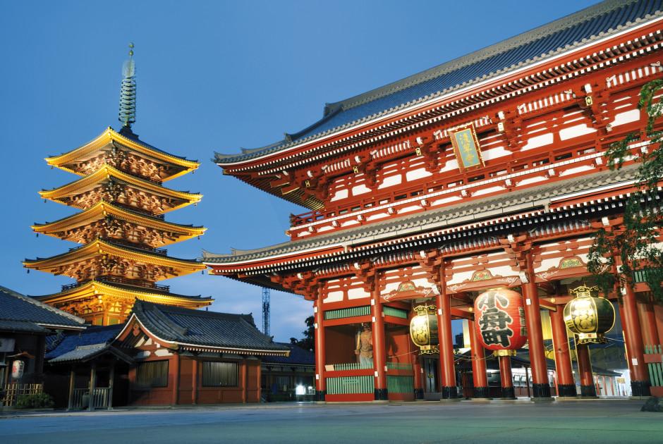 Asakusa-Kannon-Tempel, Tokyo