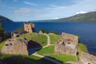 Urquhart Castle beim Loch Ness